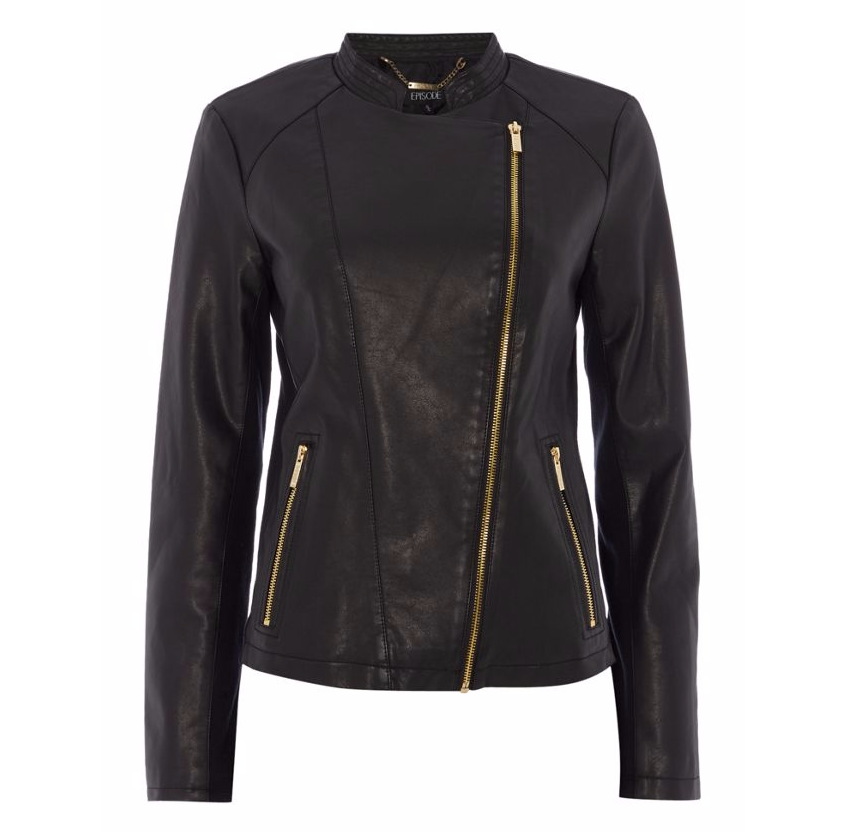 Episode PU Jacket With Gold Hardware,Now £40.00