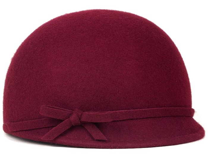 Bowknot Lace up Cloche Hat $16.49