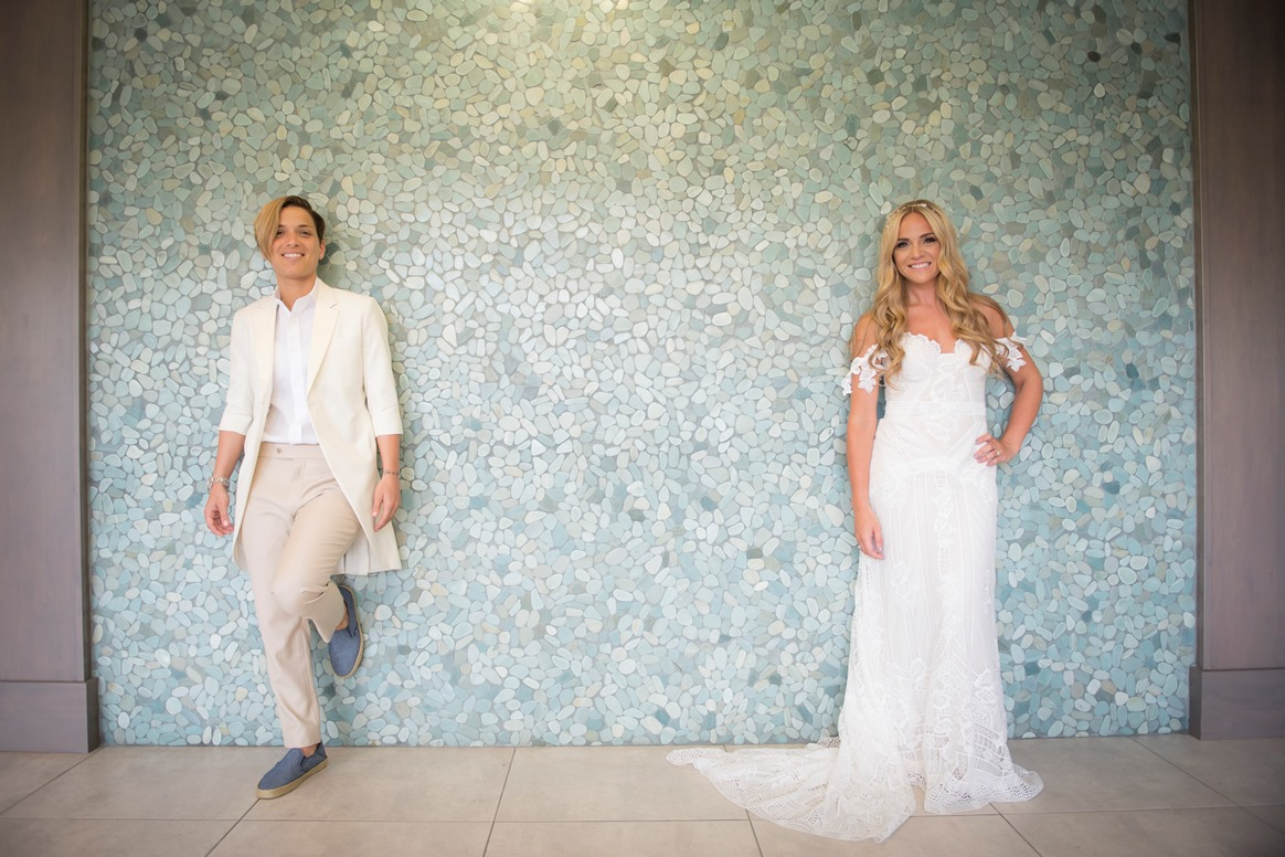 A very Dapper Wedding: Nicole and Tina
