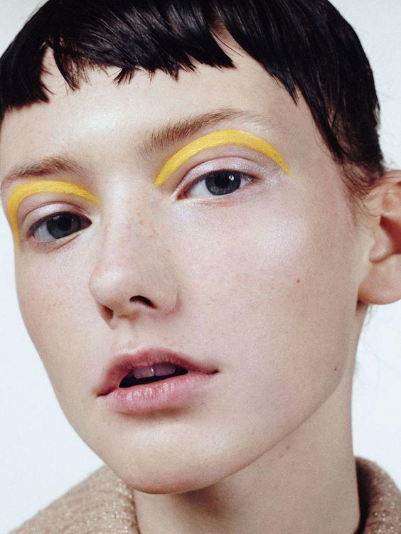 Bold Androgynous Make Up