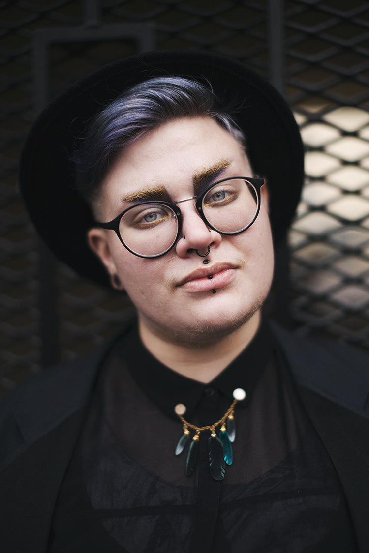 Ree Melanen via  9 Plus Size Cuties Share Tips For Androgynous Style