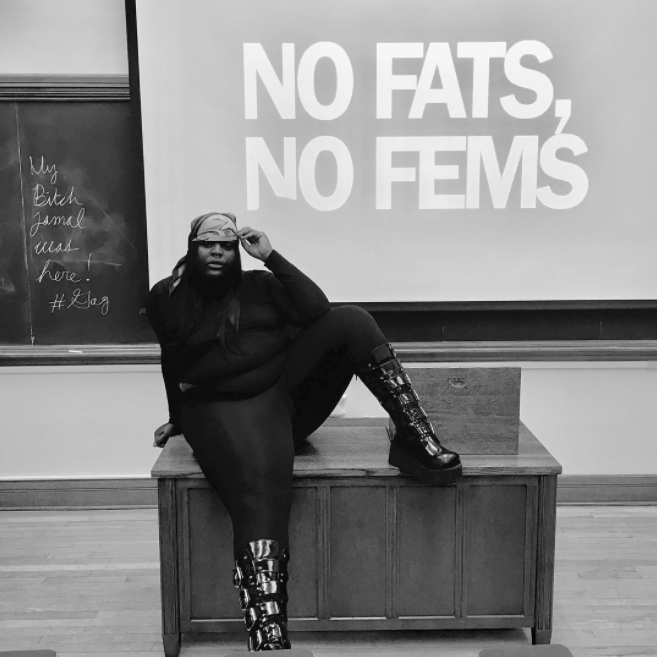 "TSBIGGIESMALLS: ""a black faggot who won't hush his-her mouth. www.jamaltlewis.com """