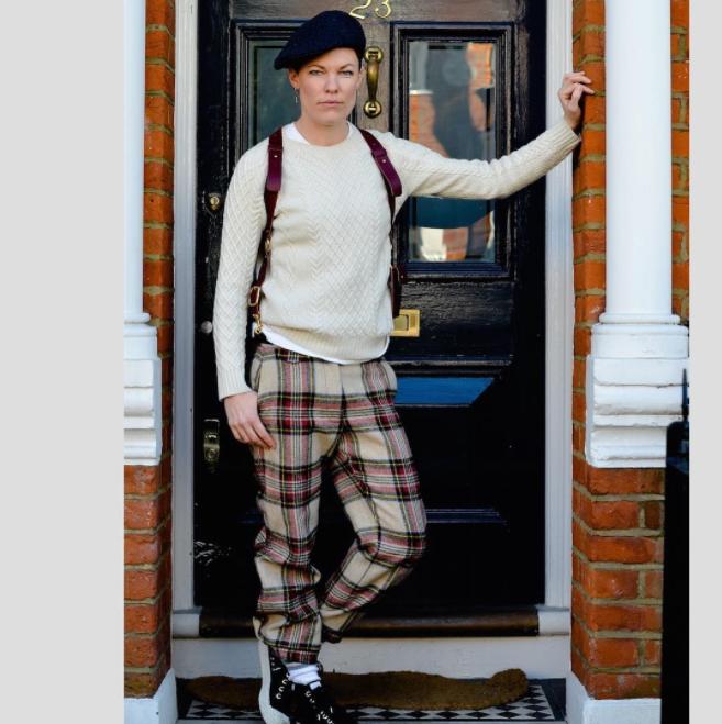 "Thomas Thomas: ""Menswear for women. Androgynous fashion inspired by vintage British tailoring with a modern twist.  thomasthomas.london """