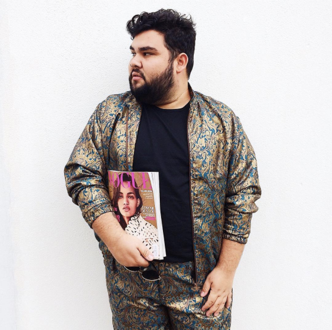 "JULIO FERNANDEZ: ""Instablogger | Fashion Design 💌 eleeplussize@gmail.com 🎥 YouTube: Ele é Plus Size ❤️ Noivo do  @mxrcosf  ✨🌈"""