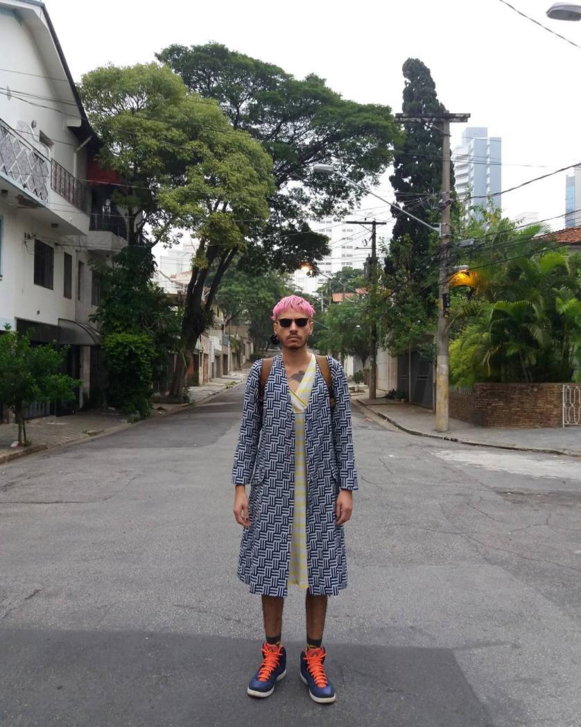 "Mauro Nunes: ""BIXA MONXTRA & cortadora de cabelos no  @corteradical """