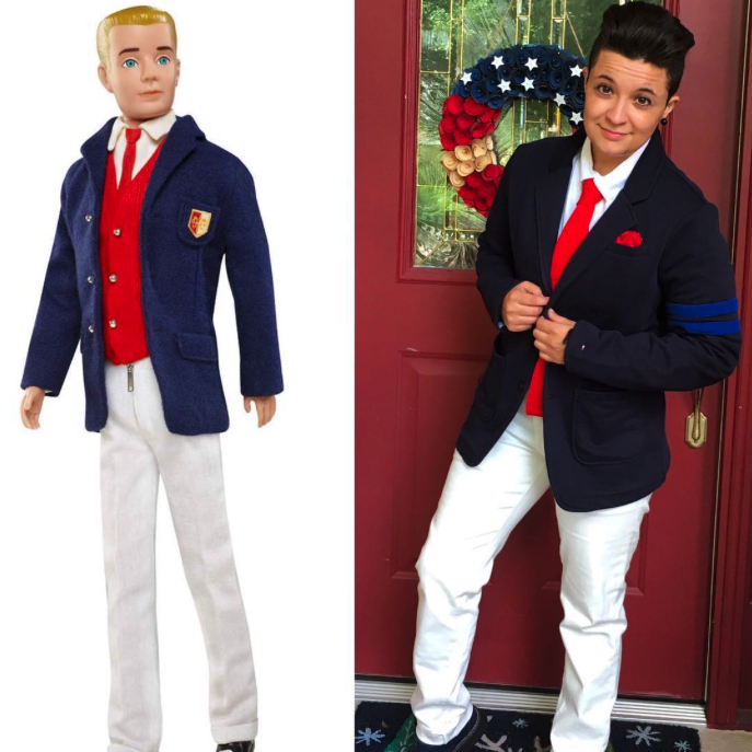"""thepockettomboy """"Come on Barbie, let's go party!"""" 😏😂 My doppelgänger is a Ken doll from the '60s and I'm perfectly fine with that."""