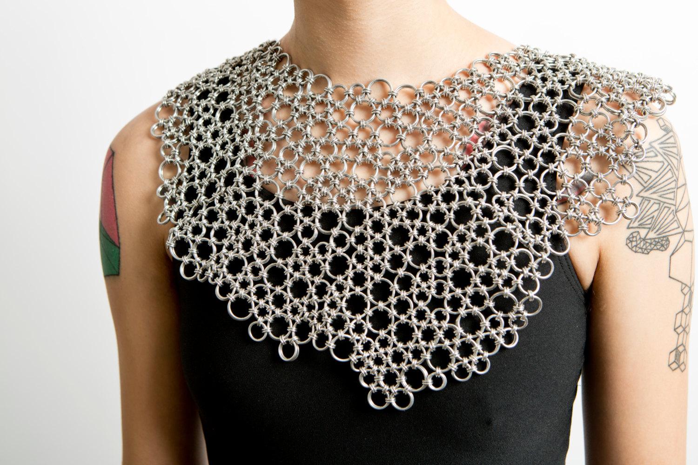 Organic Japanese Lace Collar by Rebirth Garments