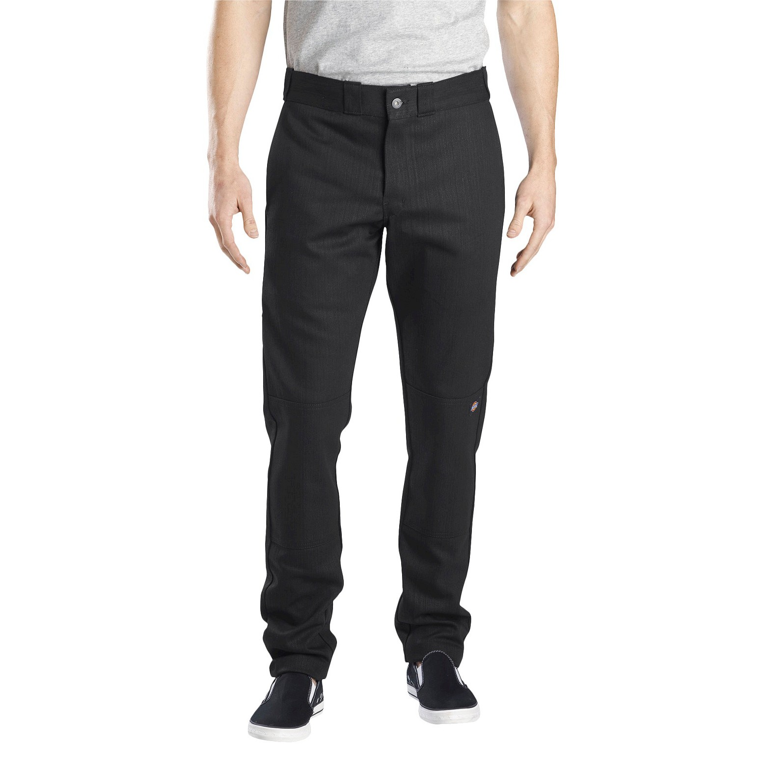 Dickies® Men's Skinny Straight Fit Flex Twill Double Knee Pants, $14.99 - $26.99