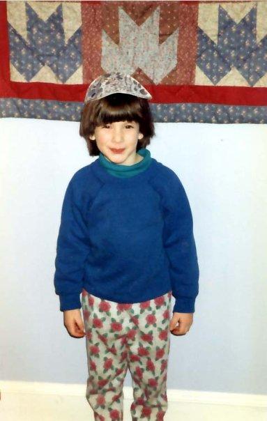 Me, around age 4