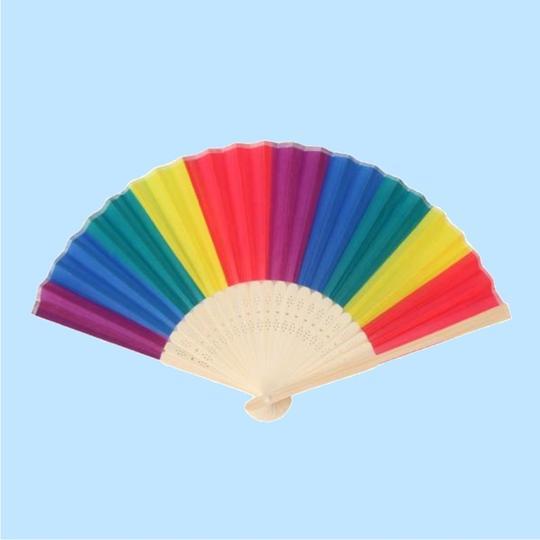 Rainbow  Fan $6.98