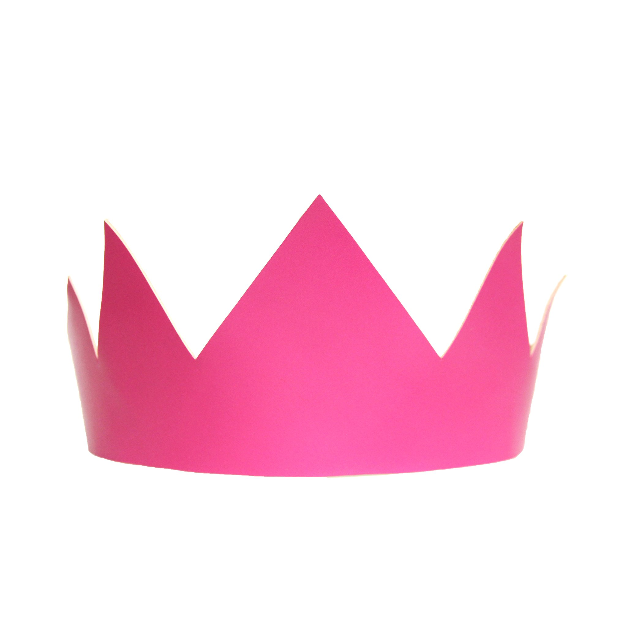 Pink Leather Crown $75