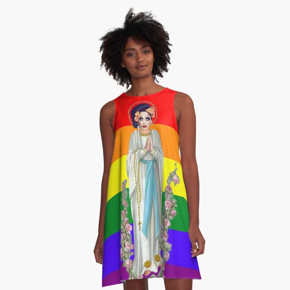 Bianca Pride A-Line Dress $46