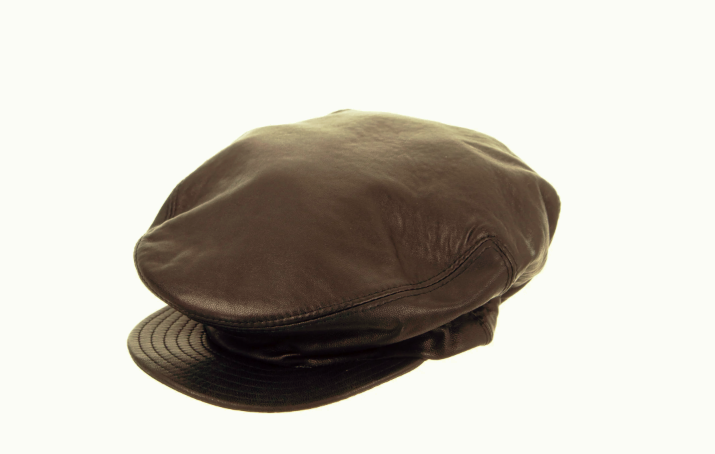 Versace Vintage Leather Military Hat