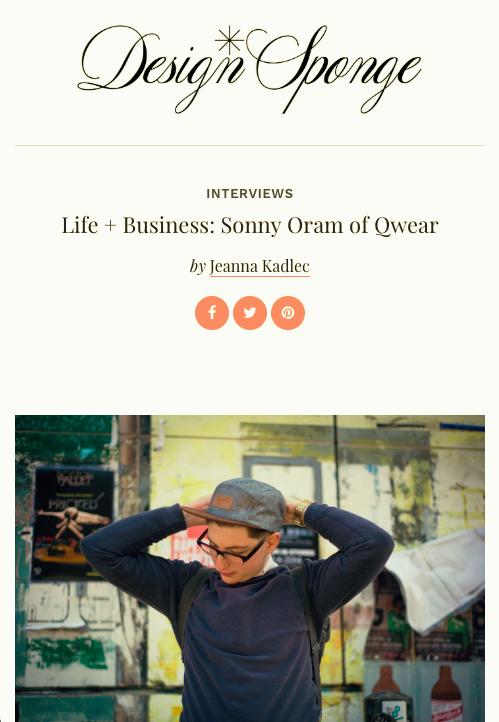 Qwear DesignSponge*