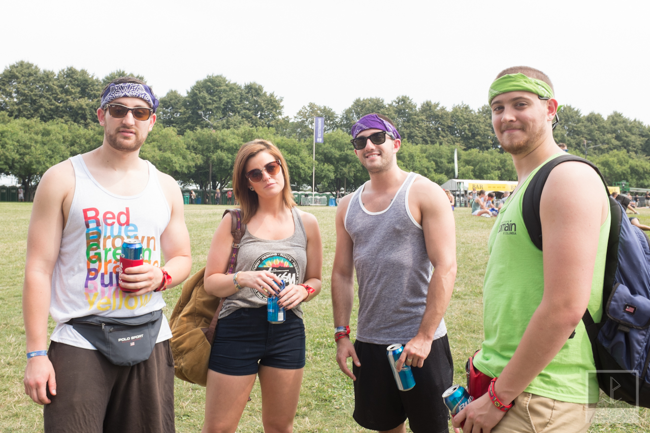 The 3-day crew: Evan, Natalie, Phil and Alec