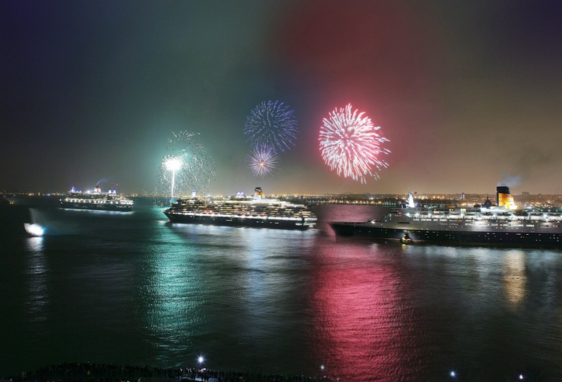 Queen Victoria fireworks