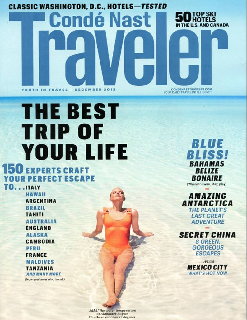Cafe Royal - Conde Nast Traveler - December 2012 - Cover.jpg