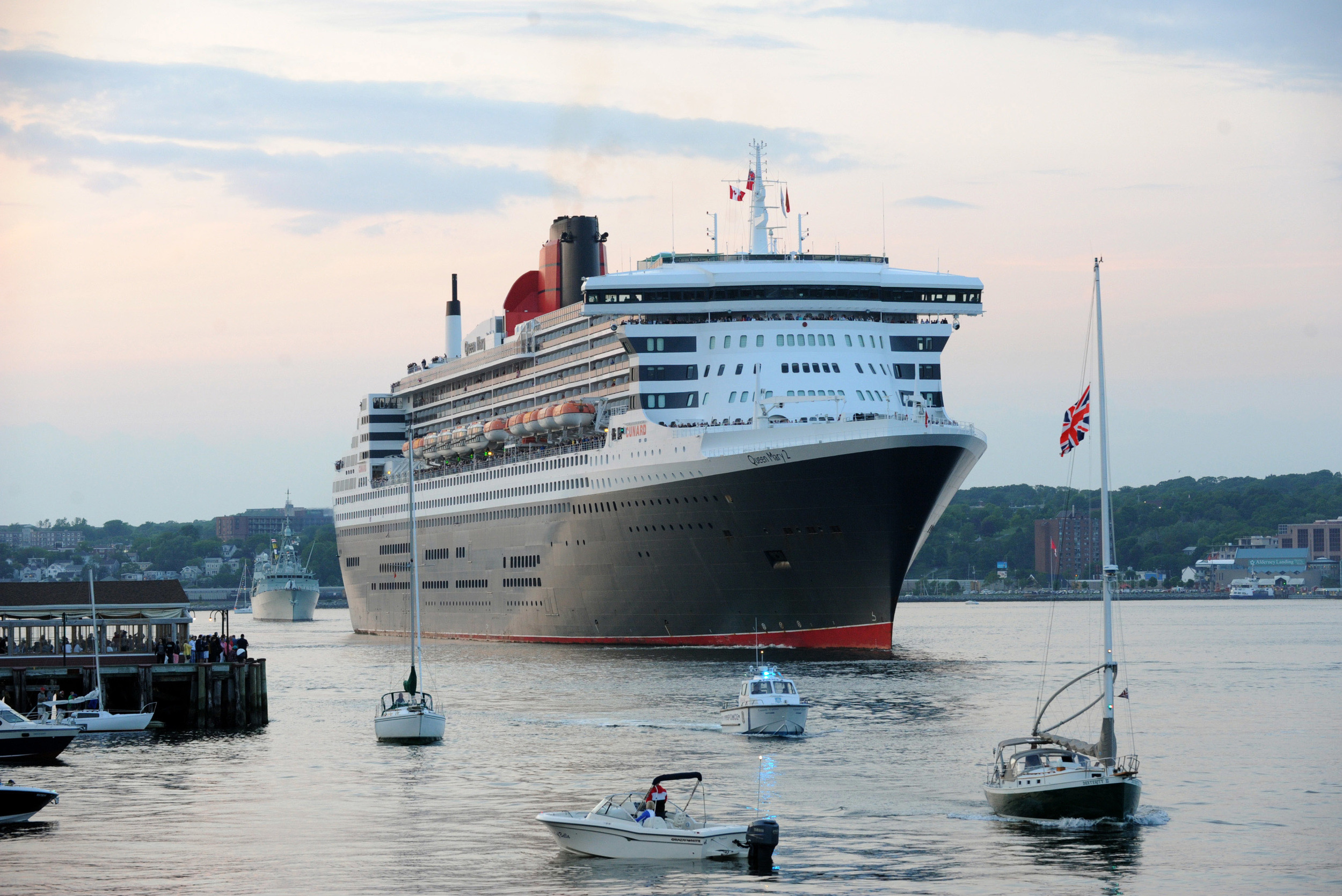 Cunard in Halifax
