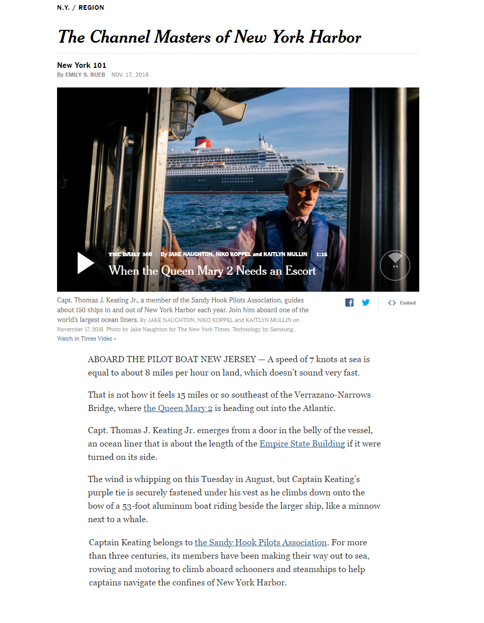NYTimes clip, Sandy Hook Pilots Association- page 1.png