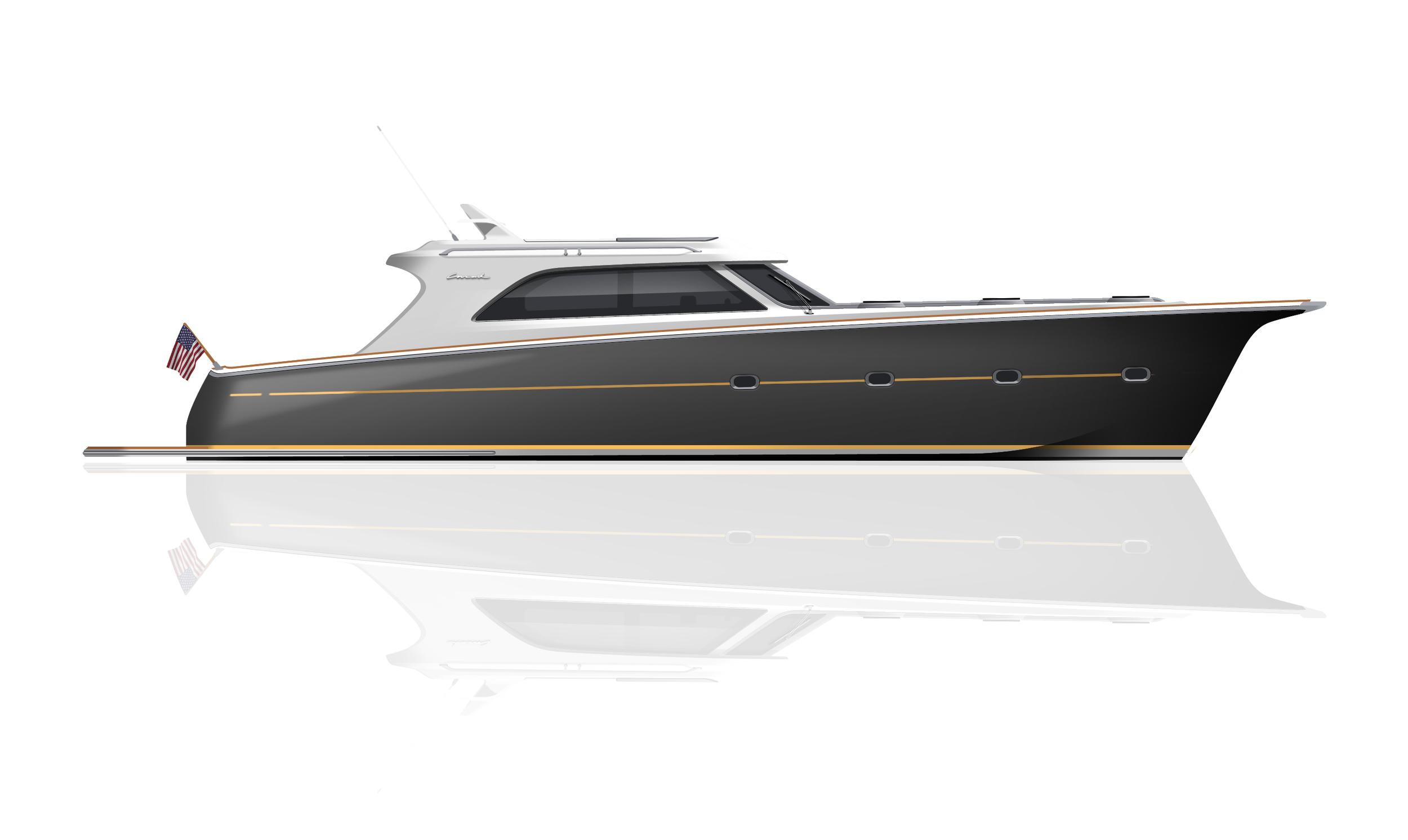 Starboard side elevation