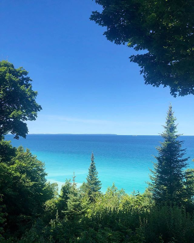 Lunchtime at the office! #puremichigan #sandybeach #lunchbreak #view #summerdays