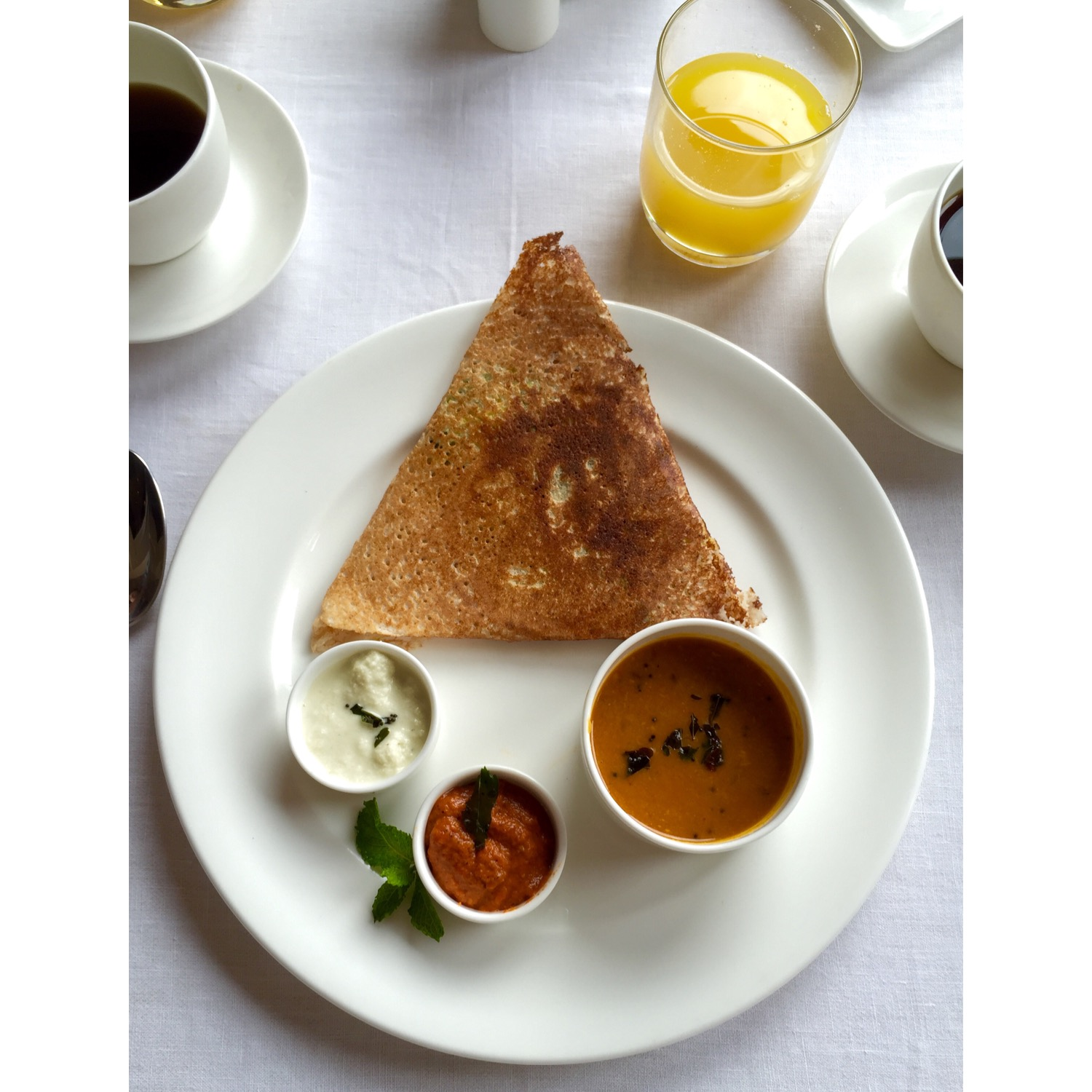 Morning dosa!