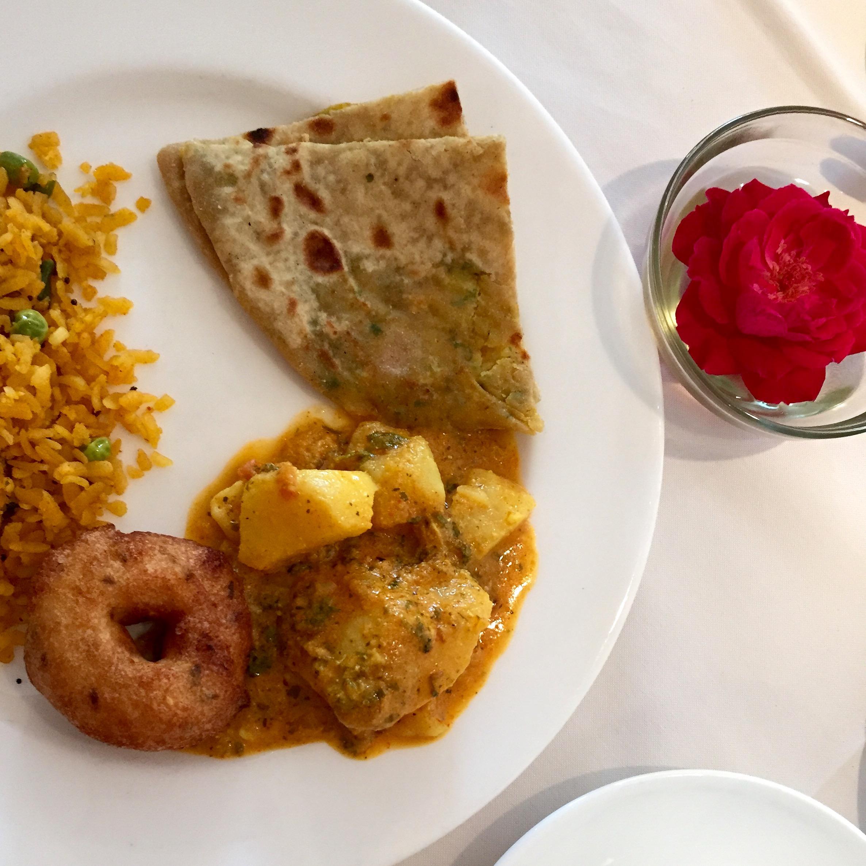 A New Delhi breakfast
