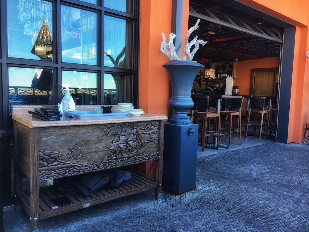 Commercial: Cabinets, Lobby Desks, Architectural Elements - Bohemian Hotel Savannah