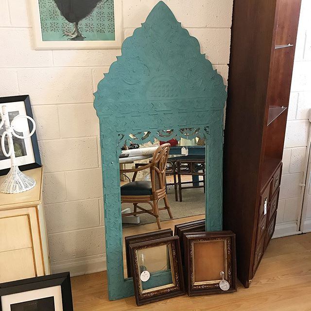 Mirror: 31x67 $147.50 Victorian frames: 12x14x3, $10 each