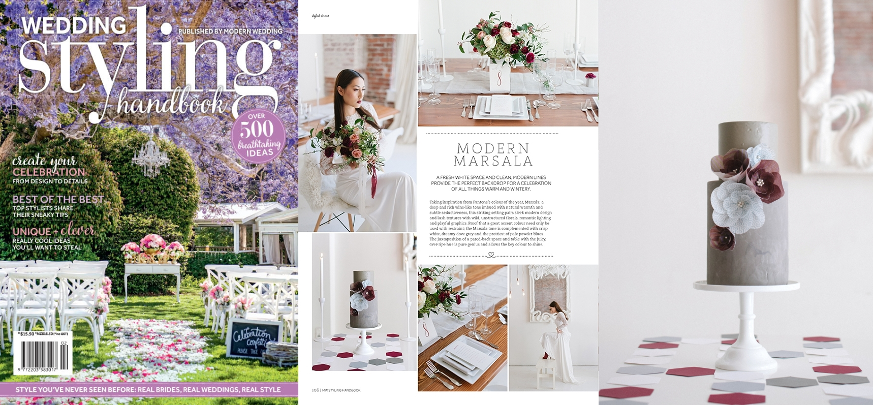 Modern Wedding Styling Handbook (Australia), Issue 2, published July 2015