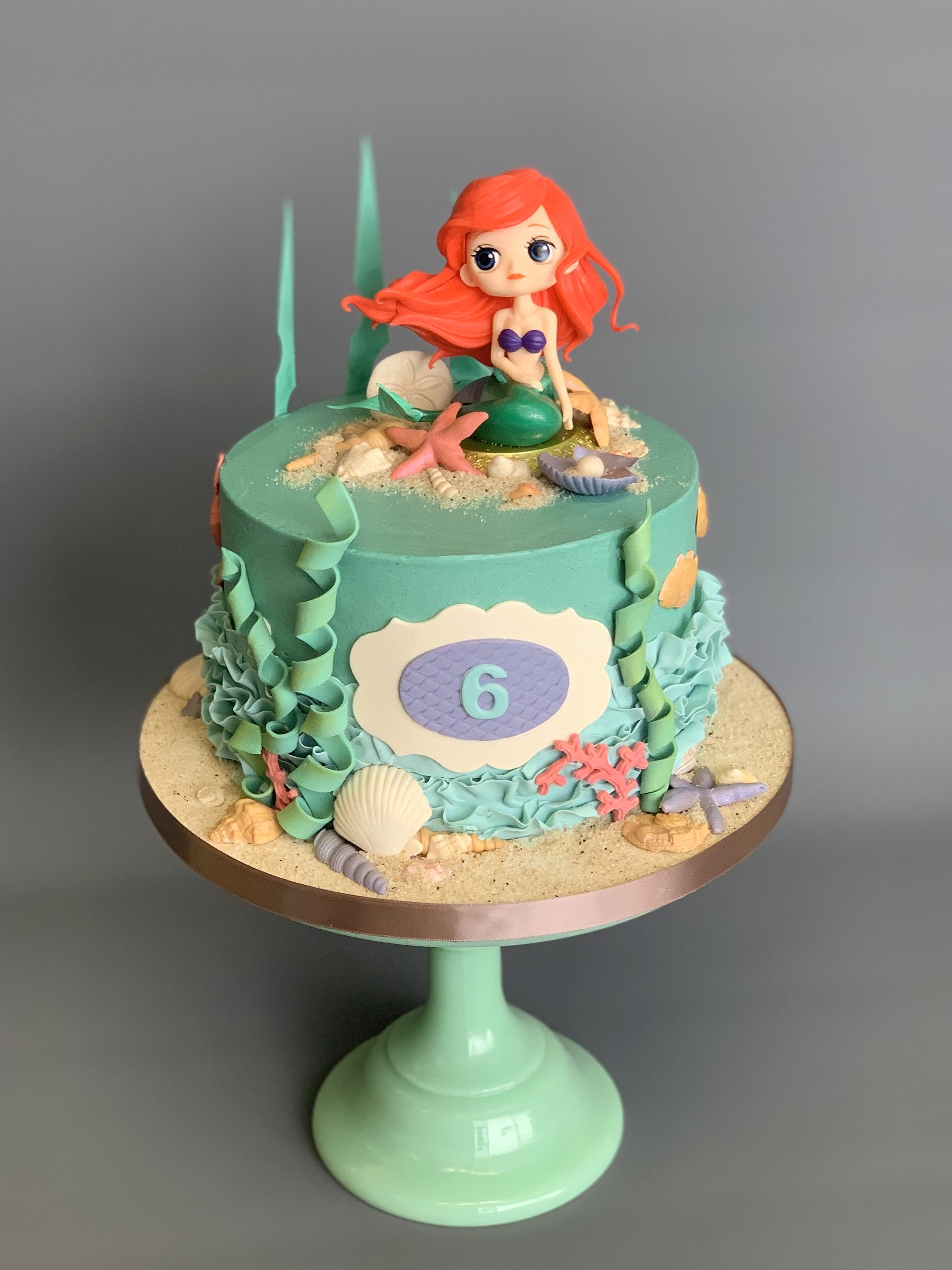 Mermaid Cake Image Copyright Carla Schier
