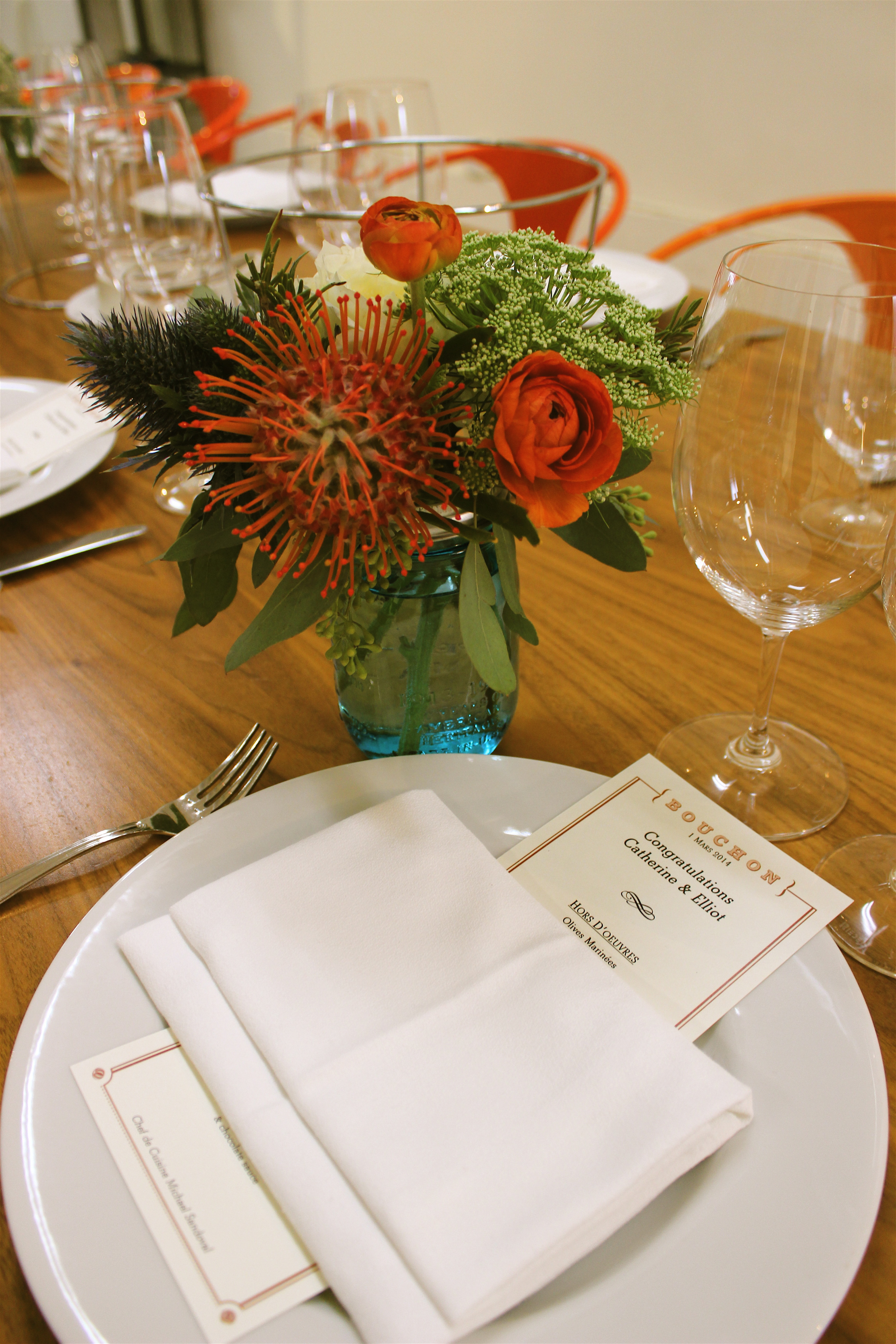 Menus and place settings