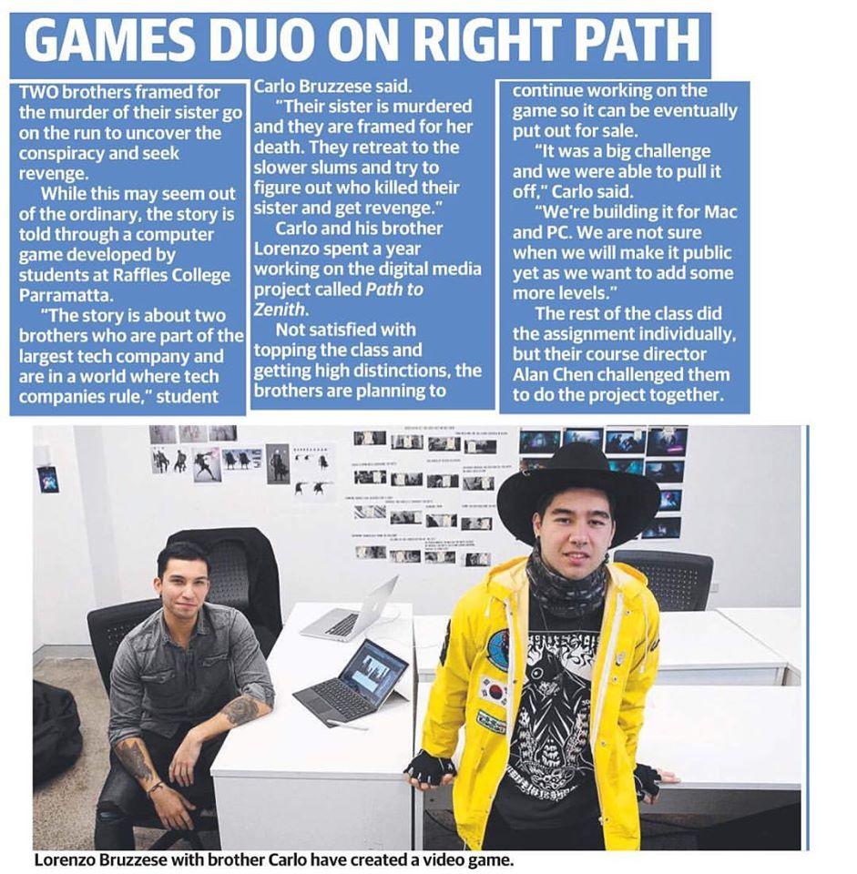 Parramatta Sun News paper