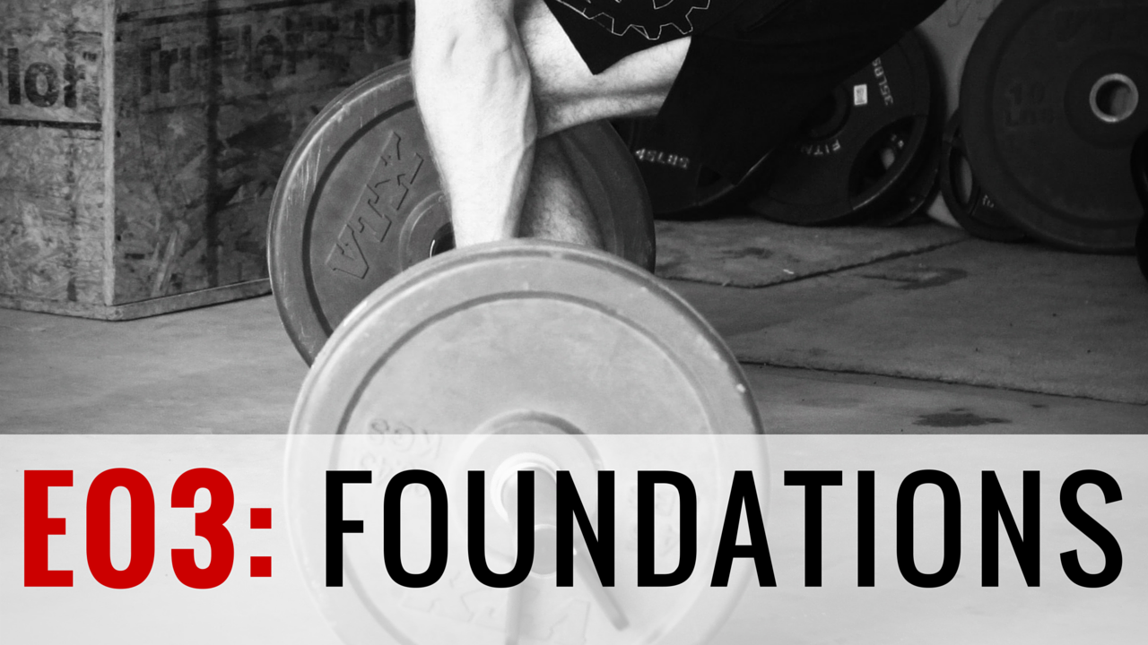 FOUNDATIONS    4-Week Foundational Program | 27 Total Training Days | 28 Athlete Brief Videos | Goal: Increase Strength & Power and Find the Holes in Your Training    Welcome to the Garage Gym Athlete Foundational program. This is the best way to start with Garage Gym Athlete. Here at GGA we use a lot of percentage based lifting, reference perceived efforts, etc. This program will help you find where you stand. It also implements additional volume with strength and power building principles, as well as, high level conditioning. Your fitness will be tested and increase by completing this program. This program is not easy.