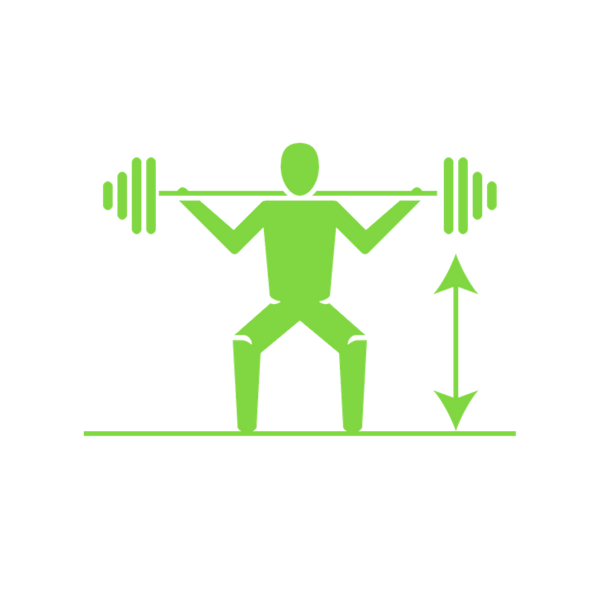 STRONGER HUMANS   Add 52.4 lb. across three main lifts (deadlift, squat & strict press)