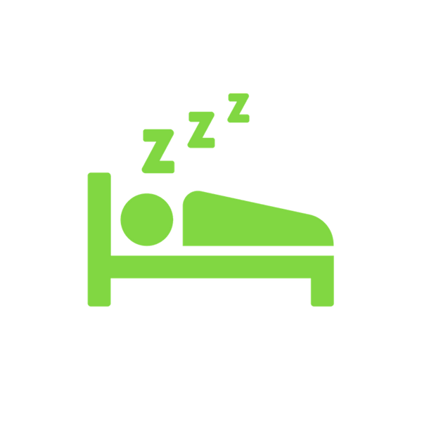 MORE SLEEP   Our emphasis on recovery, helps out athletes increase weekly sleep average by 35 minutes.