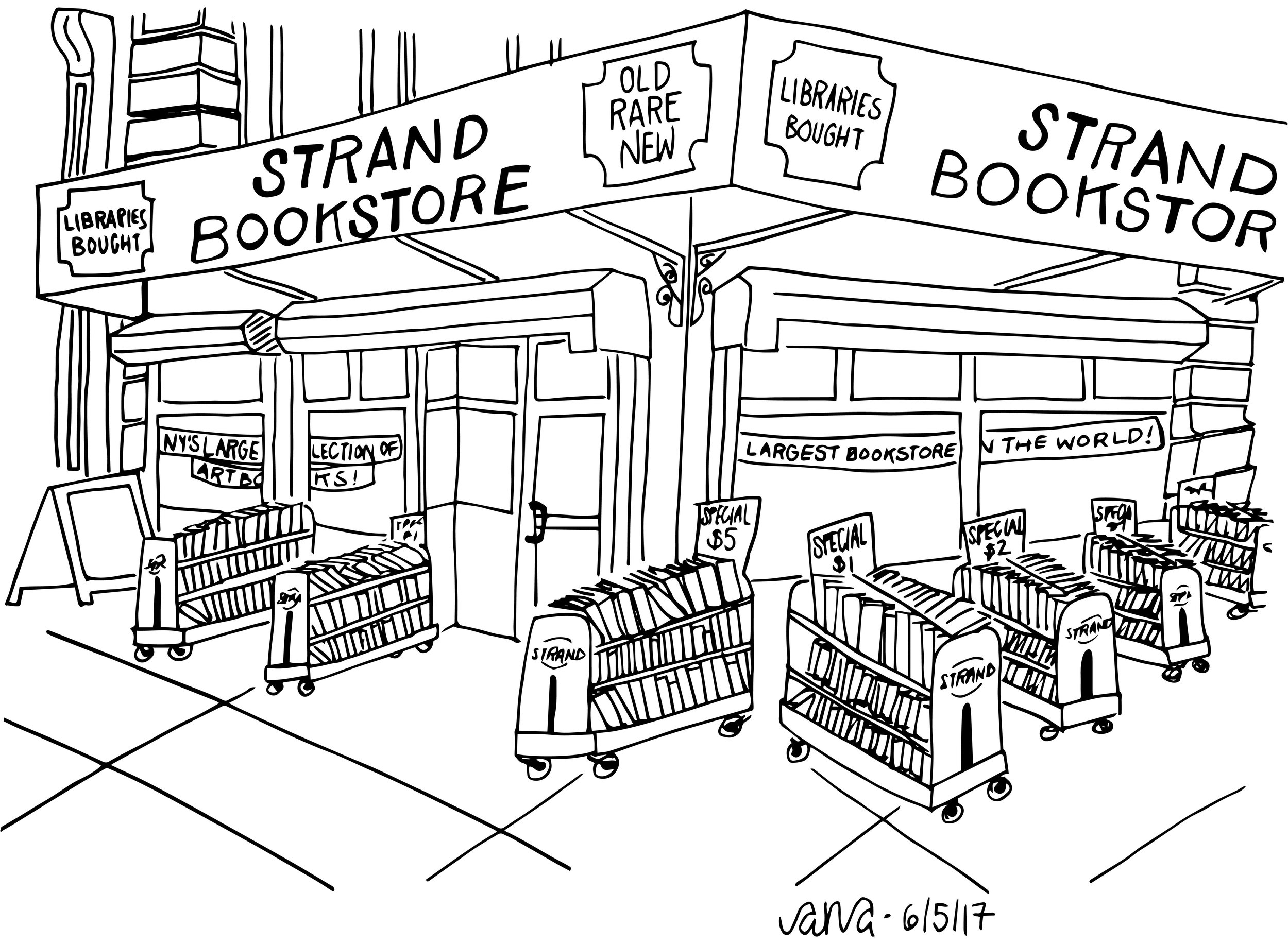 Strand Bookstore The Spots Ana Handmade