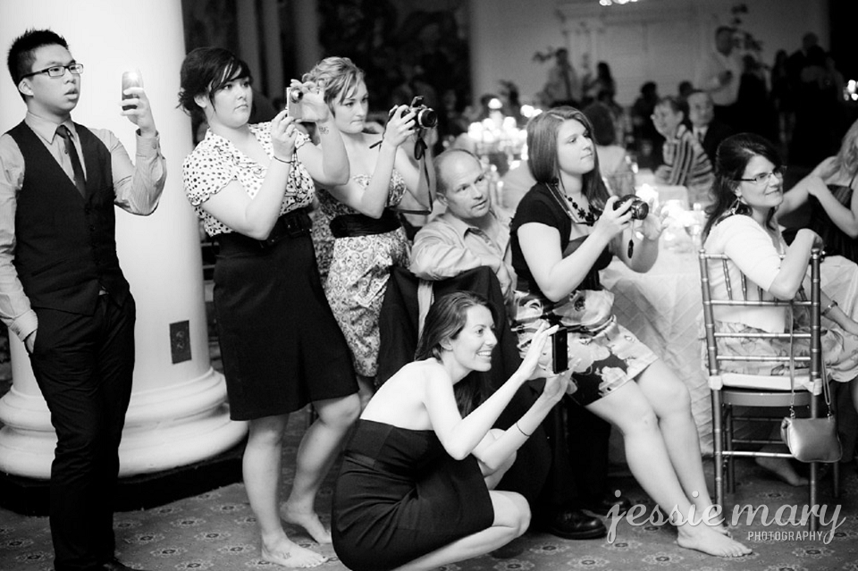 unplugged weddings and the importance of being present | charleston & atlanta wedding planners | wedding photobomb