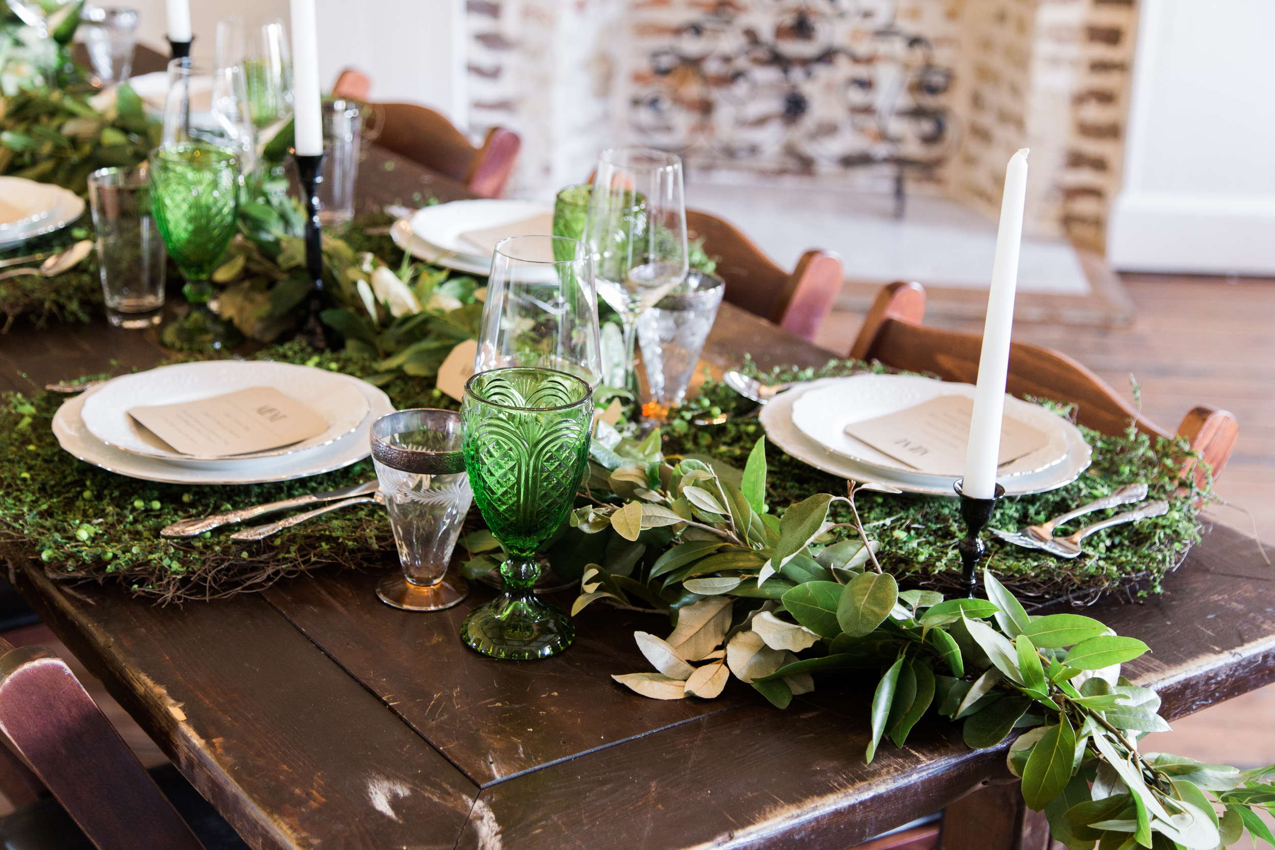 Foraged Fairytale Wedding at Upstairs at Midtown on the Scarlet Wedding Tour Charleston, SC