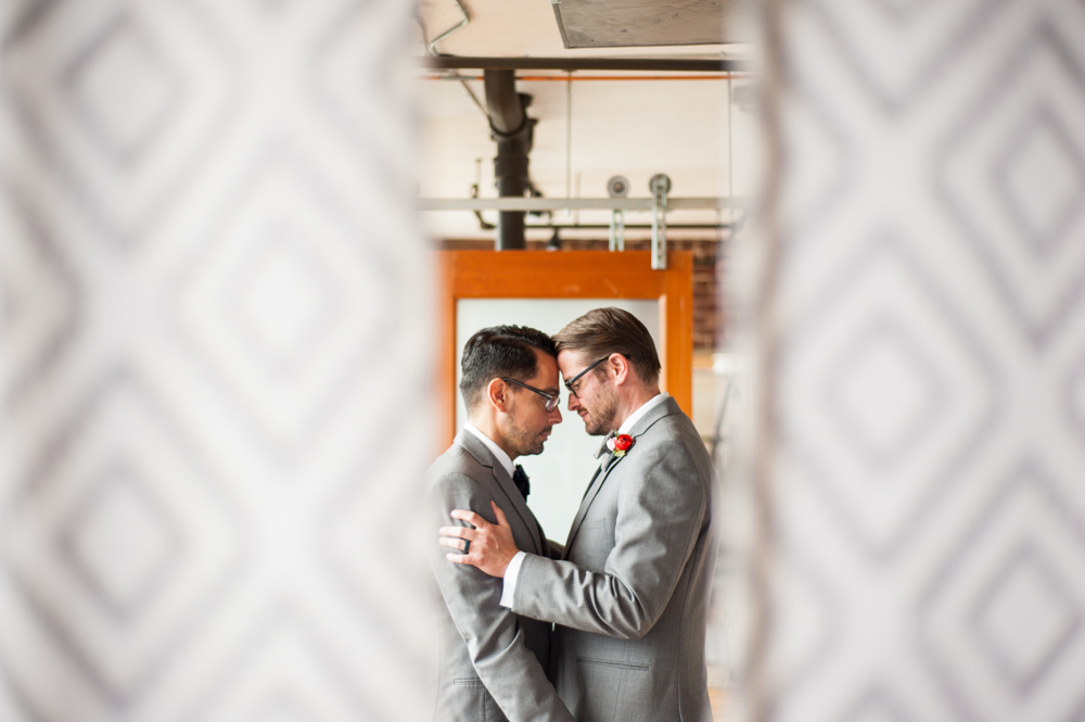Geode Inspired Gay LGBT Same Sex Wedding Planners at Terminus 330 in Atlanta by Scarlet Plan & Design for Revolution Wedding Tours