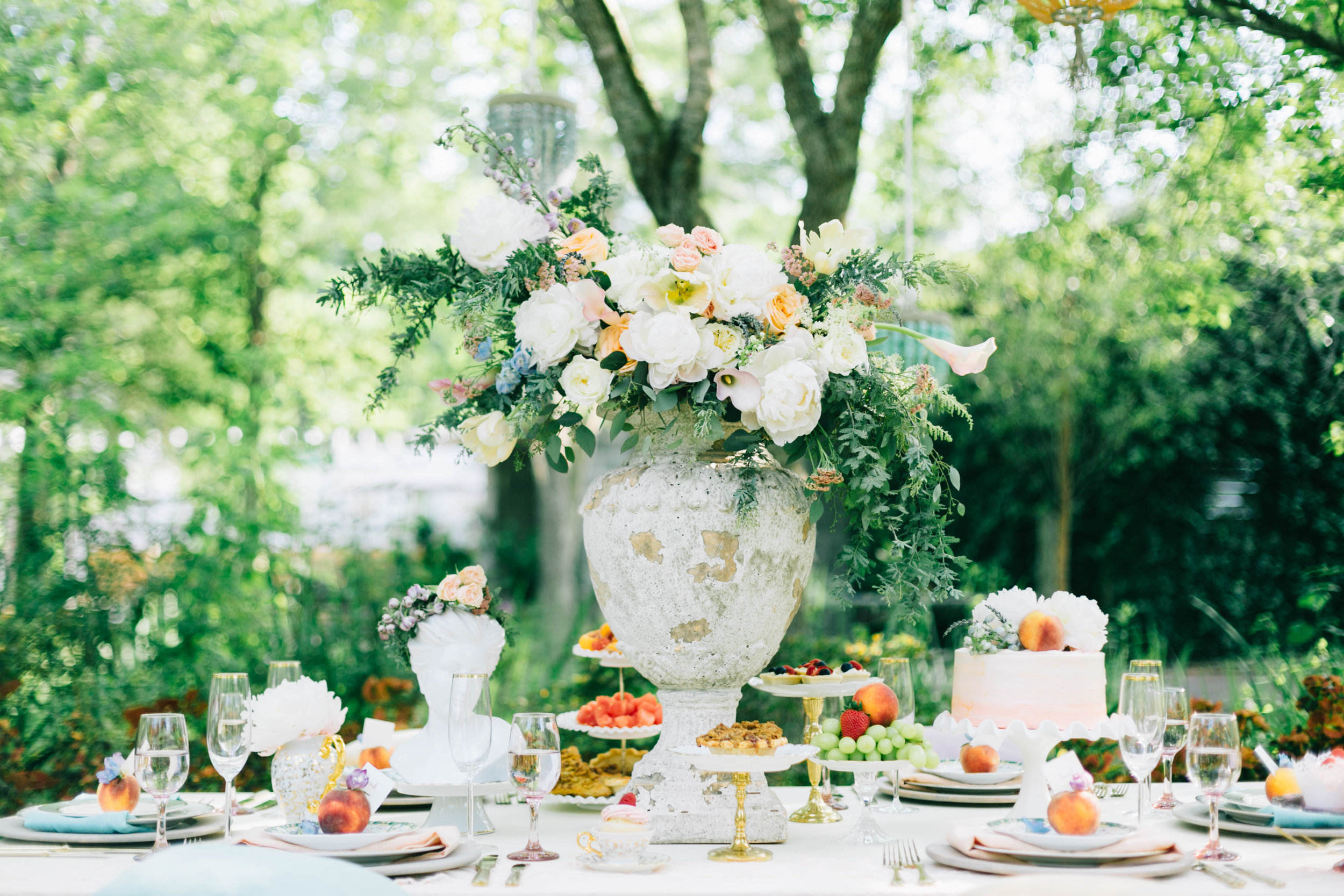 cypress gardens bridal shower shoot, charleston wedding planners