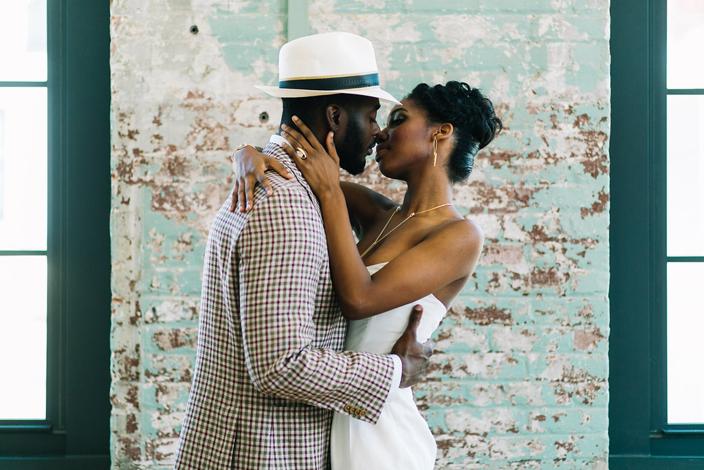 modern, industrial, mixed metals wedding at cedar room in charleston by scarlet plan & design | charleston, atlanta, greenville, destination wedding planners & event design