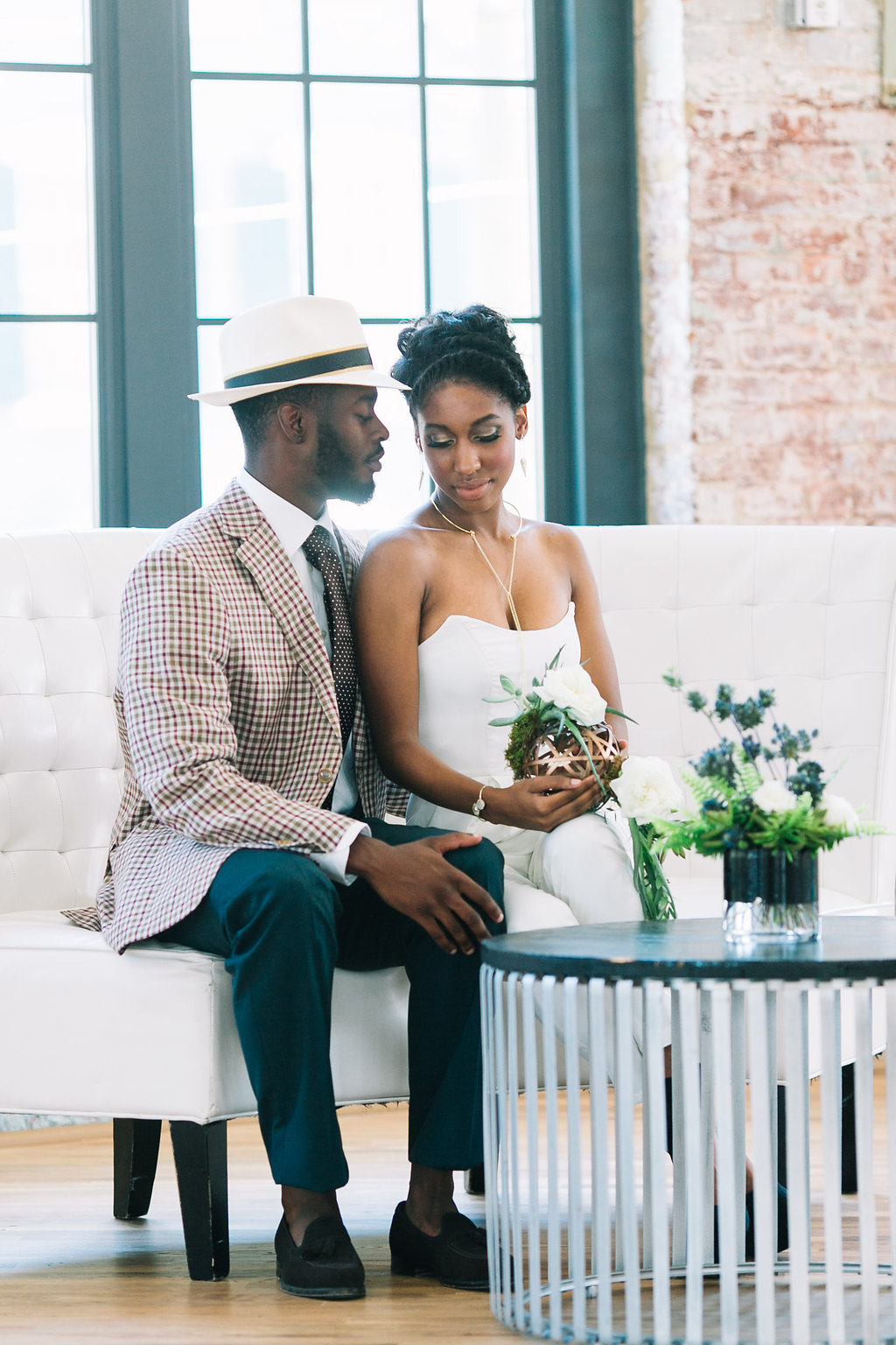 modern, industrial, mixed metals wedding at cedar room in charleston by scarlet plan & design (162).jpg