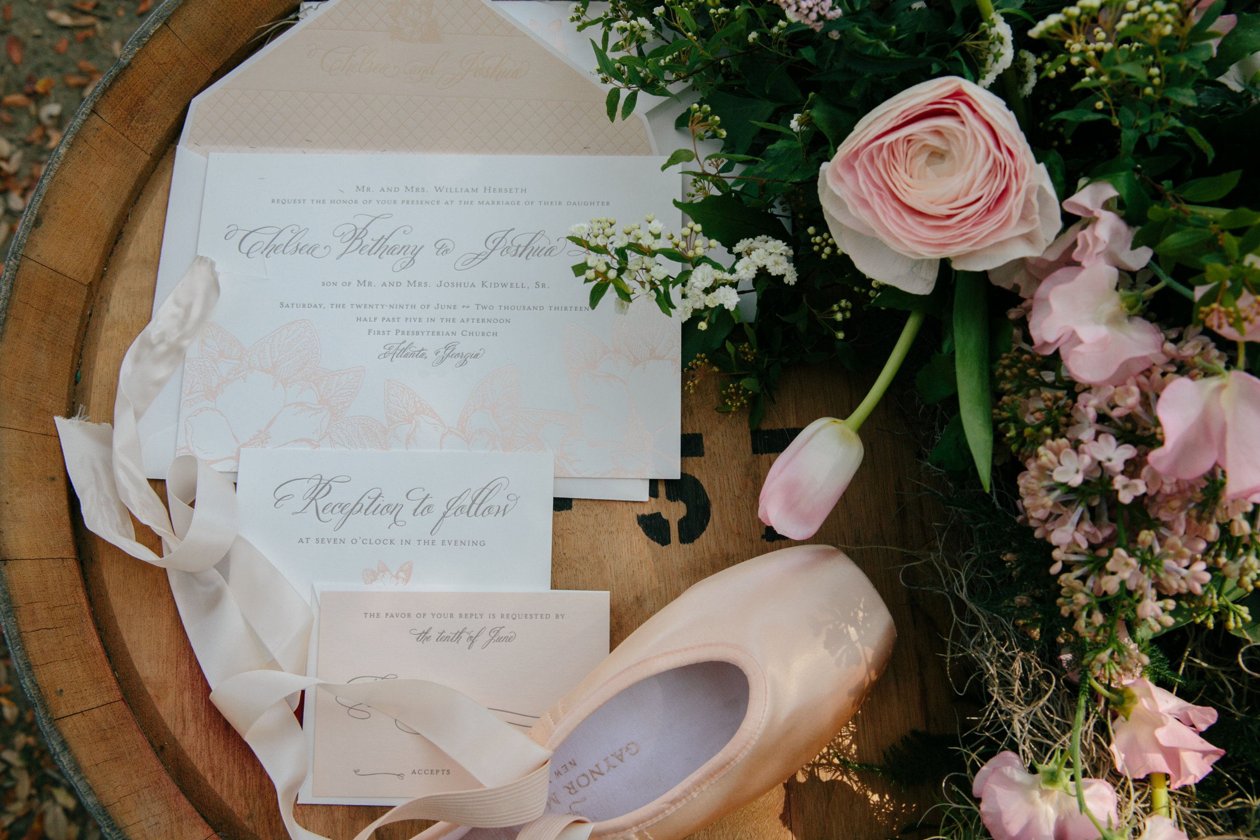 how to address your wedding invitations | charleston wedding planners | magnolia plantation ballet wedding
