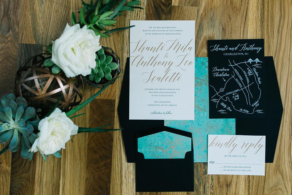 How to Address Your Wedding Invitations | Wedding Invitation Etiquette | Charleston, Atlanta, Greenville Wedding Planners