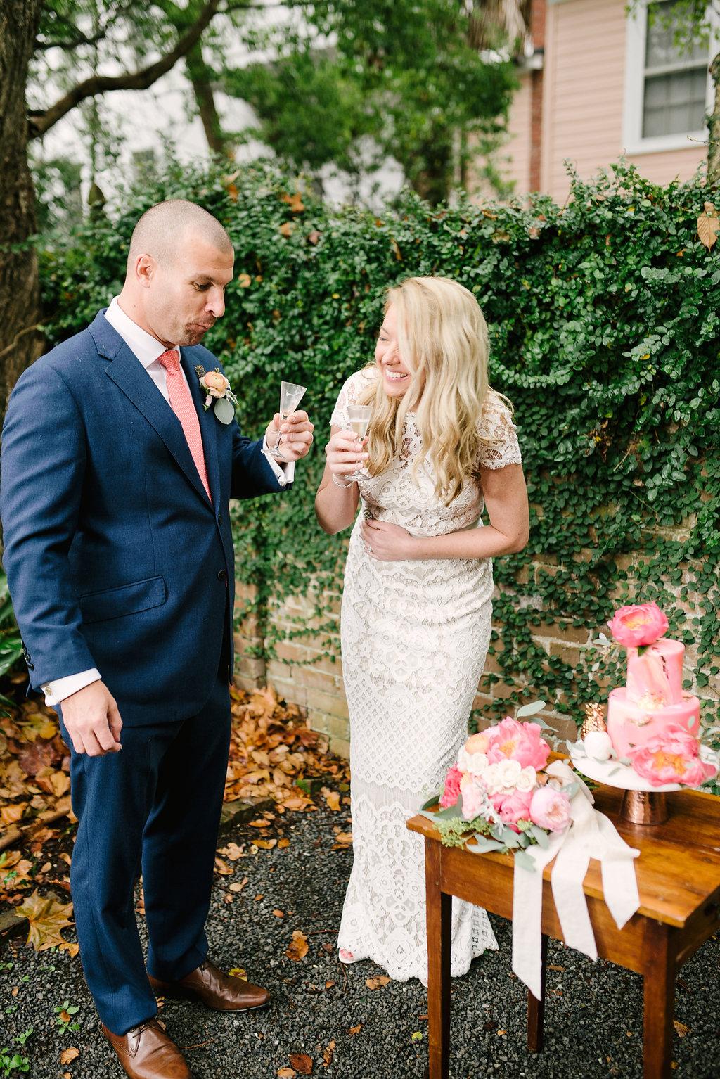 charleston elopement planners, scarlet plan & design, coral, tangerine, hot pink, peach intimate wedding  (9).jpg