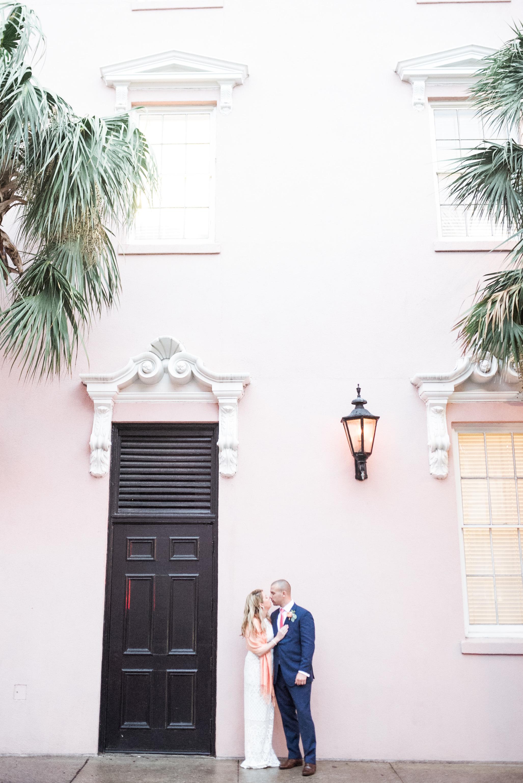 charleston elopement planners, scarlet plan & design, coral, tangerine, hot pink, peach intimate wedding (105).jpg