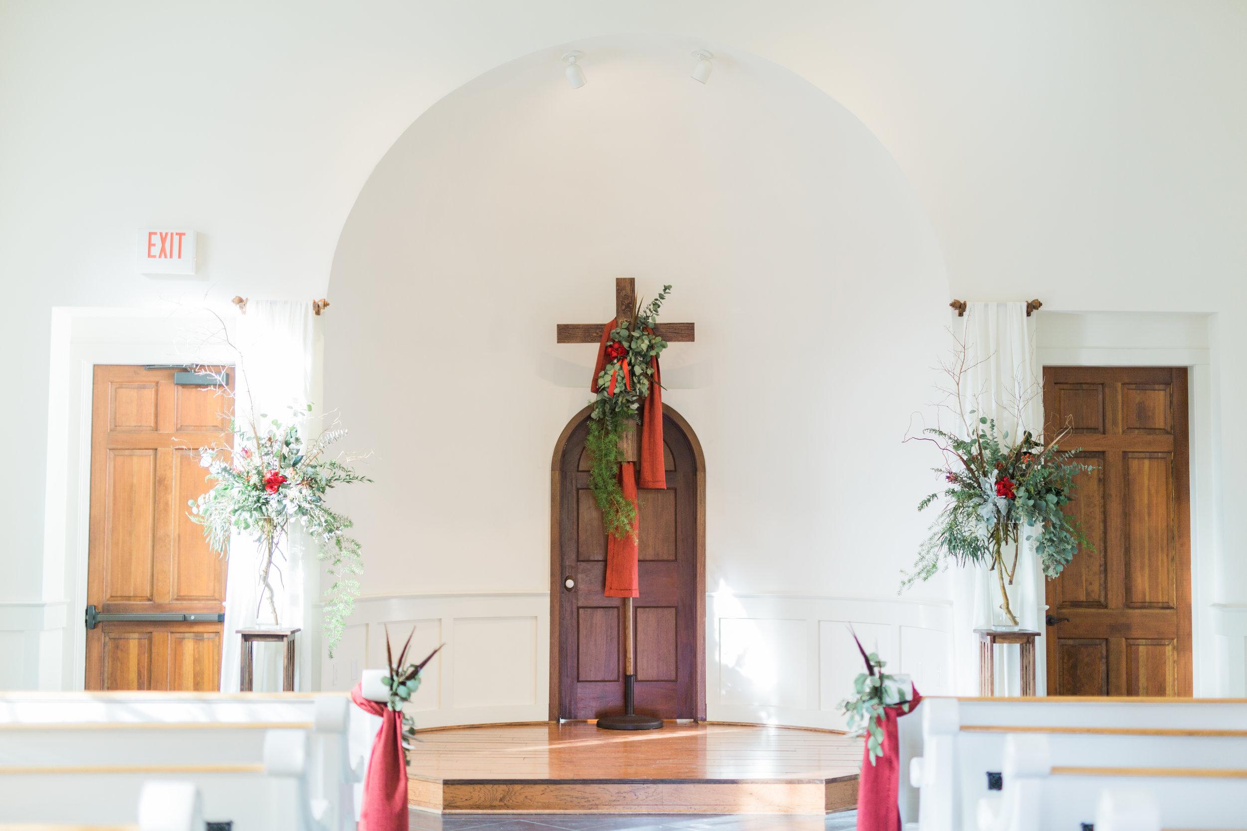 Coleman Hall _ chapel Charleston Rustic Scottish Hunting Lodge Wedding - Charleston, Atlanta, Greenville Wedding Planners (107).jpg