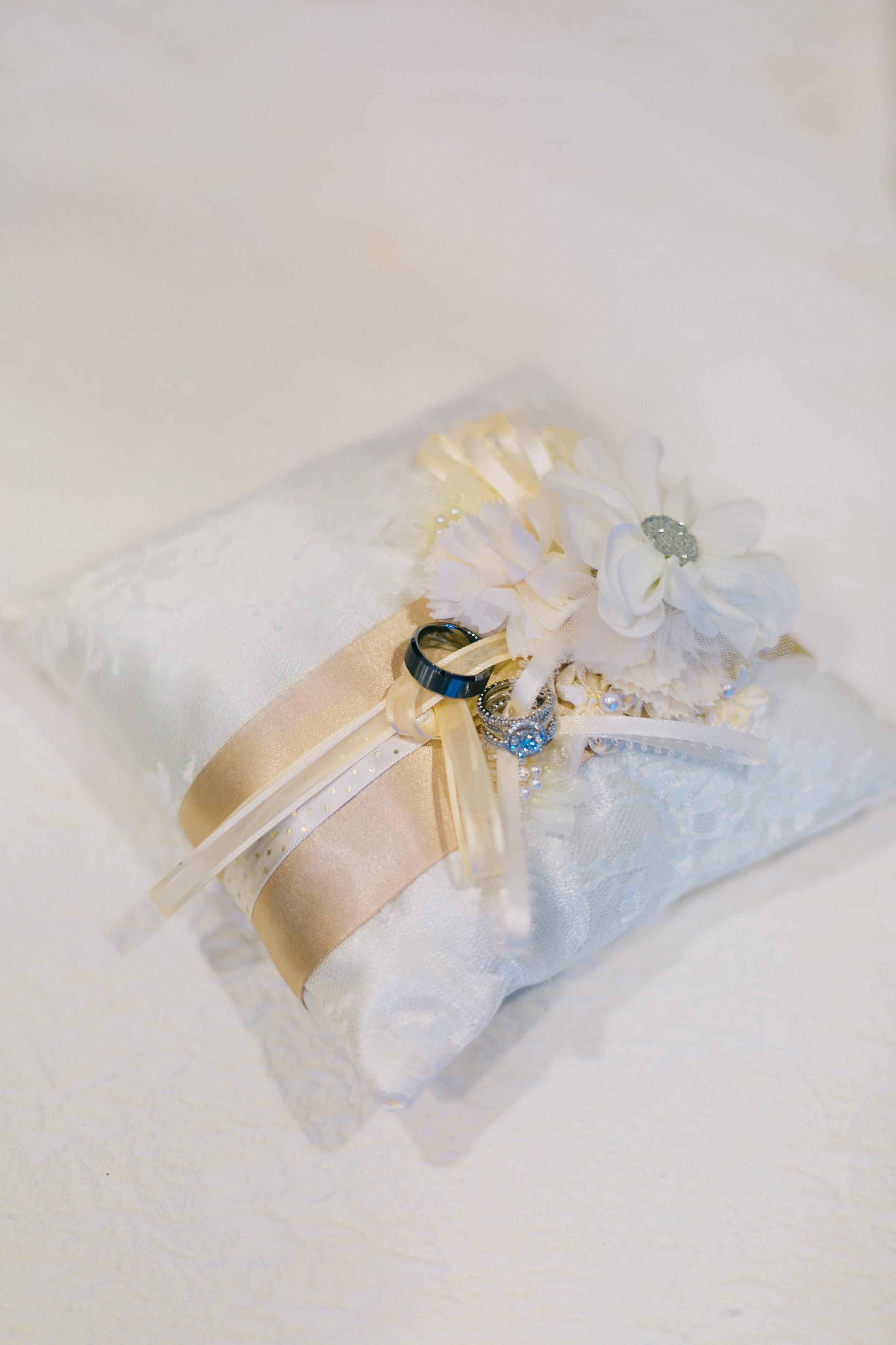 ring bearer's pillow | middleton place charleston wedding planners