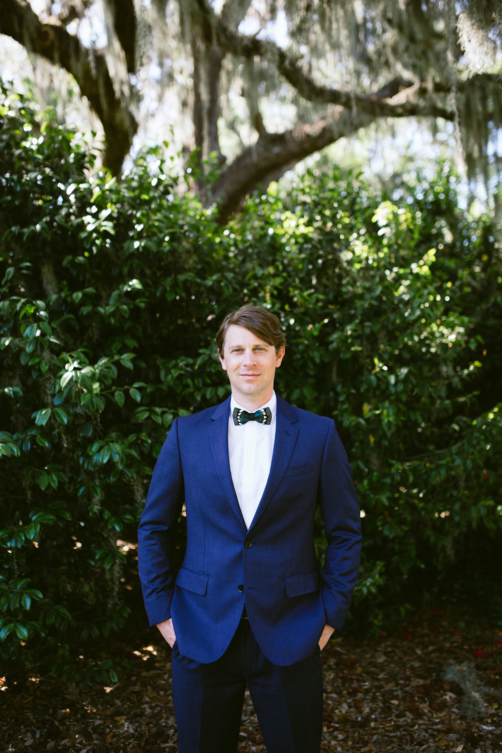 Edisto Island Wedding at Cypress Trees Plantation - Charleston Destination Luxury Wedding Planner - Scarlet Plan & Design, navy blue groom's tuxedo suit brackish bowties